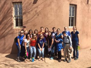 University students at Southside Presbyterian Church in Tucson, AZ during the 2016 Border mission trip.