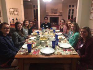 Grad Student Dinner Fellowship