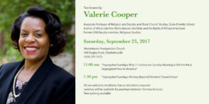 Westminster Lectureship Series – Valerie Cooper