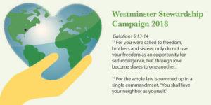 Stewardship Letter from Ken