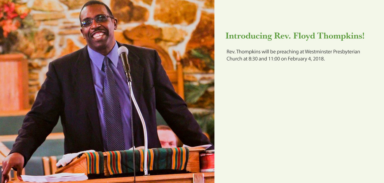 Introducing Rev. Floyd Thompkins
