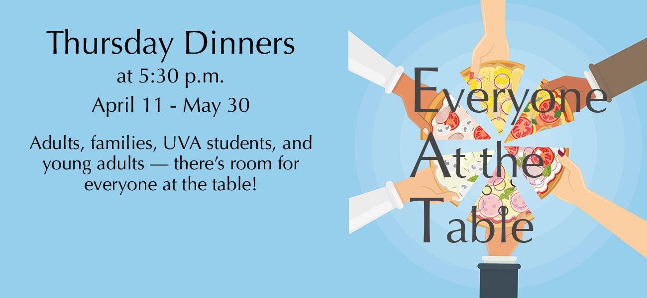 E.A.T. Thursday Dinners