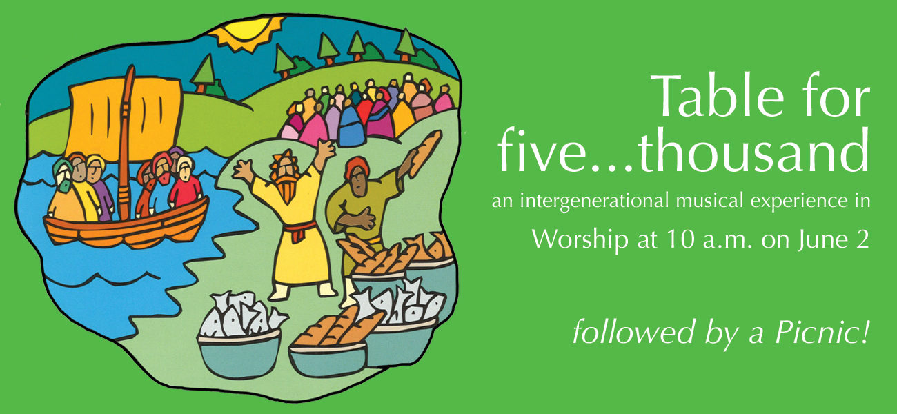 Musical in Worship — and a Picnic!